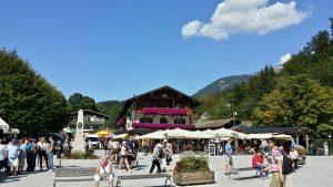 Berchtesgaden. Embarcadero lago Konigsee