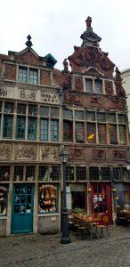 Gante. Casas de Terracota y Siete Obras de la Misericordia