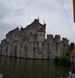 Gante. Castillo de los Condes de Flandes