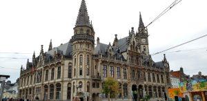 Gante. Edificio de Correos