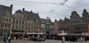 Gante. Plaza Sint Veerleplein.