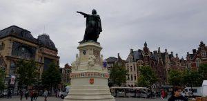 Gante. Plaza Vrijdagmarkt