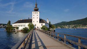 Gmunden. Seeschloss Ort