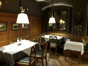 Innsbruck. Restaurante Rössl