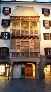Innsbruck. Tejado de Oro