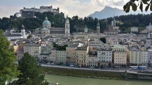 Salzburgo desde la subida al monasterio de los Capuchinos