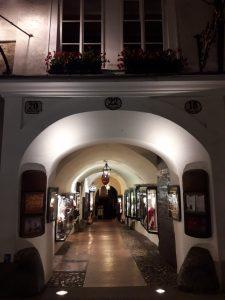 Salzburgo. Calle Getreidegasse