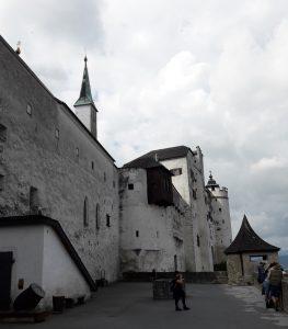 Salzburgo. Fortaleza de Hohensalzburg.