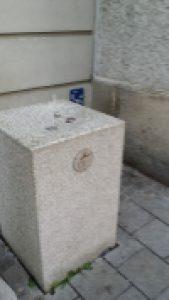 Salzburgo. Fuente agua potable
