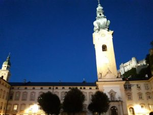 Salzburgo. Iglesia de San Peter