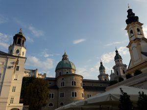 Salzburgo. Museo de Salzburgo, Castillo y Catedral