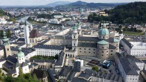 Salzburgo desde la fortaleza Hohensalzburg