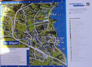 Plano de St.Gilgen