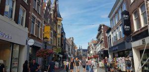 Alkmaar. Calle Langestraat.