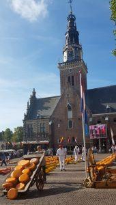 Alkmaar. Waagplein. Kaasmarkt. Mercado del queso.
