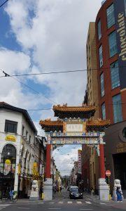 Amberes. Barrio chino