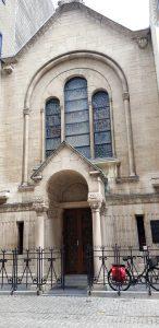 Amberes. Barrio de los Diamantes. Sinagoga.