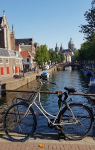 Amsterdam. Canales.