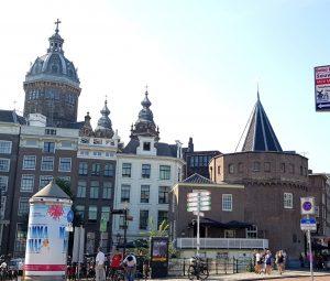 Amsterdam. Schreierstoren