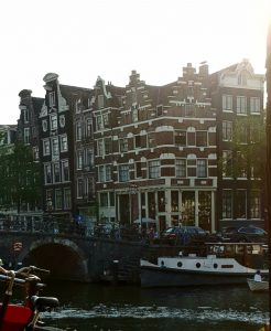 Amsterdam. Brouwersgracht.