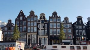 Amsterdam. Dancing Houses.