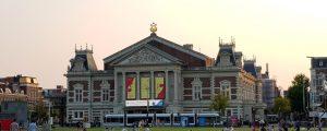 Amsterdam. Hert Concertgebouw.