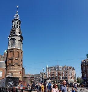Amsterdam. Muntplein y Munttoren.