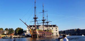Amsterdam. Museo Nacional Marítimo