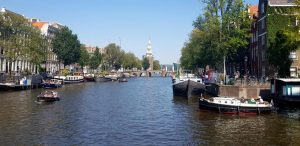 Amsterdam. Laguna Oude Schans.
