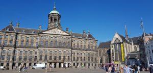Amsterdam. Palacio Real y Nieuwe Kerk.