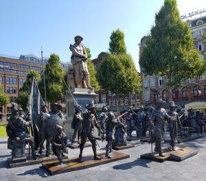 Amsterdam. Rembrandtsplein