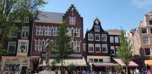 Amsterdam. Plaza Spui.
