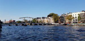 Amsterdam. Magere Brug.