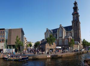 Amsterdam. Westerkerk y Museo Ana Frank.