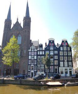 Amsterdam. Canal Singel.