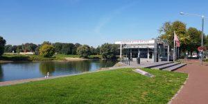 """Arnhem. Centro de Interpretación """"Airborne at the Bridge""""."""