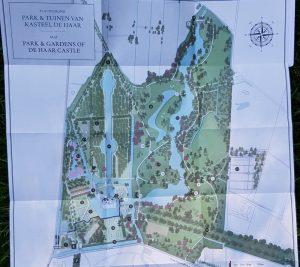 Plano del Castillo de Haar.