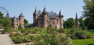 Castillo de Haar. Jardín de las Rosas.