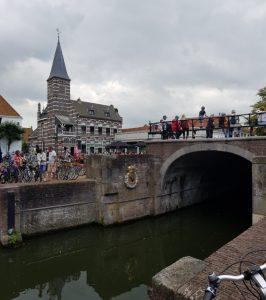 Edam. Canal Voorhaven