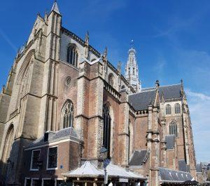 Haarlem. Basílica San Bavón.