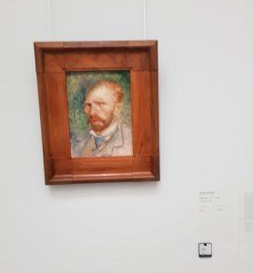 Hoge Veluwe. Museo Kröller - Müller. Retrato de Van Gogh