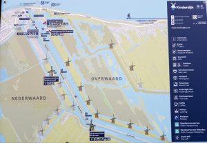 Plano de Kinderdijk