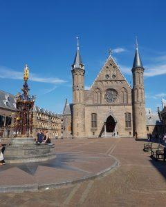 La Haya. Binnenhof. Ridderzaal.