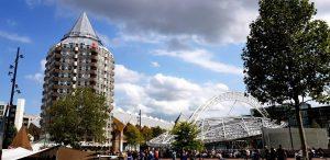 Rotterdam. Casa Lápiz