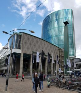 Roterdam. Edificio de la Bolsa.