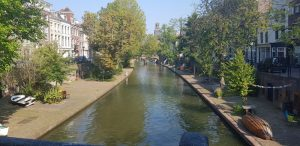 Utrecht. Oudegracht
