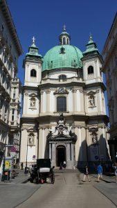 Viena. Basílica de San Pedro.