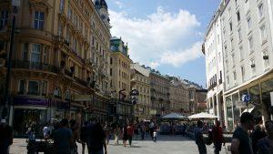 Viena. Calle Graben
