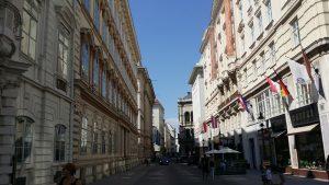 Viena. Calle Herrengasse