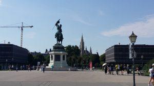 Viena. Heldenplatz